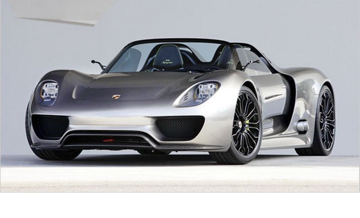 porsche shows 918 spyder hybrid ev info. Black Bedroom Furniture Sets. Home Design Ideas