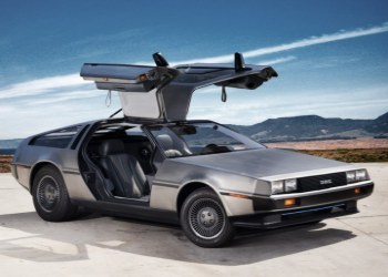 Delorean gull wing ev