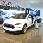 tesla-model-x at Detroit Exterior