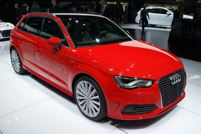 audi a3 e tron 150 mph comming to market in 2014. Black Bedroom Furniture Sets. Home Design Ideas