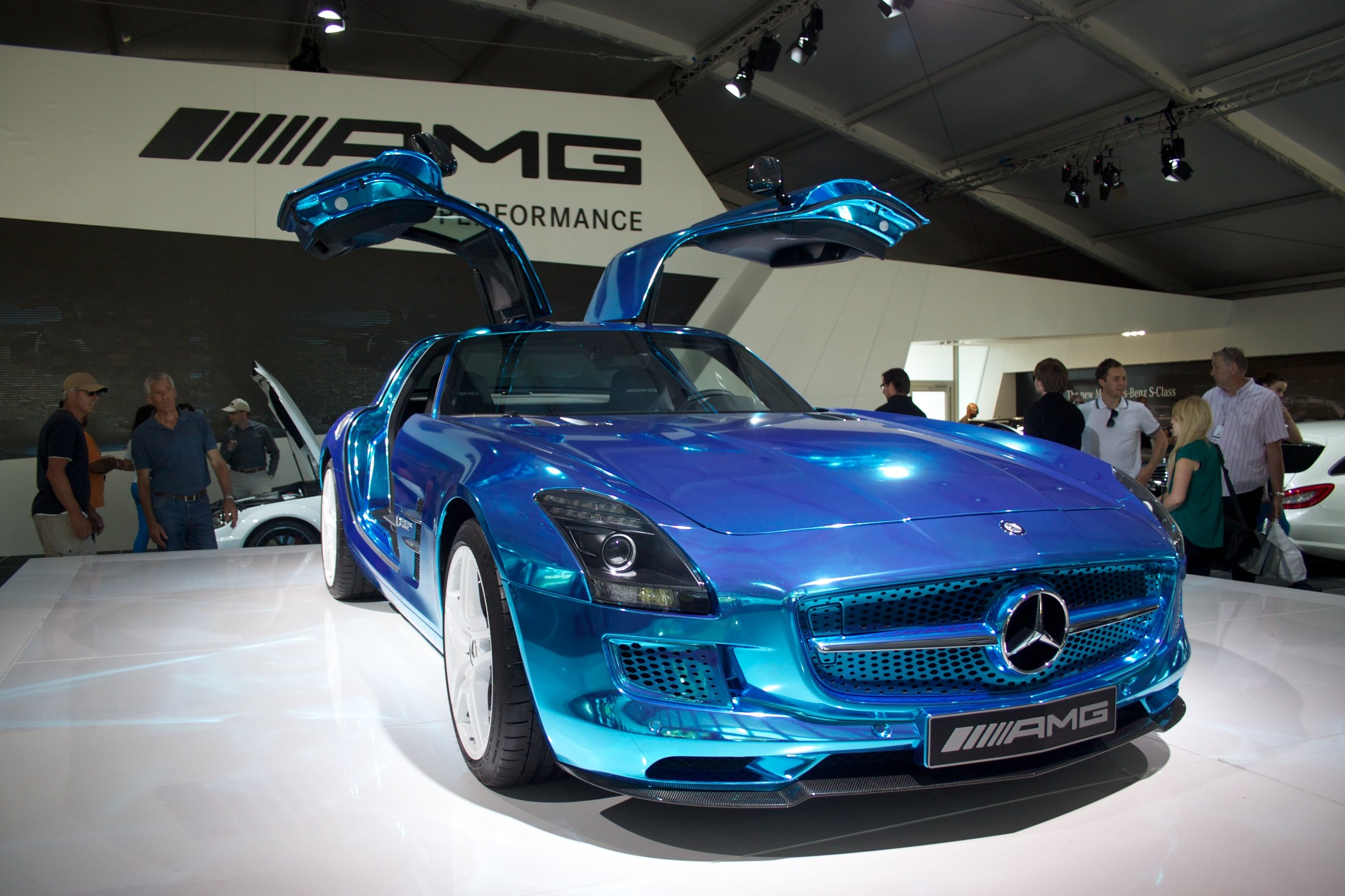 Mercedes Show Electric Sls At Goodwood Festival Of Speed