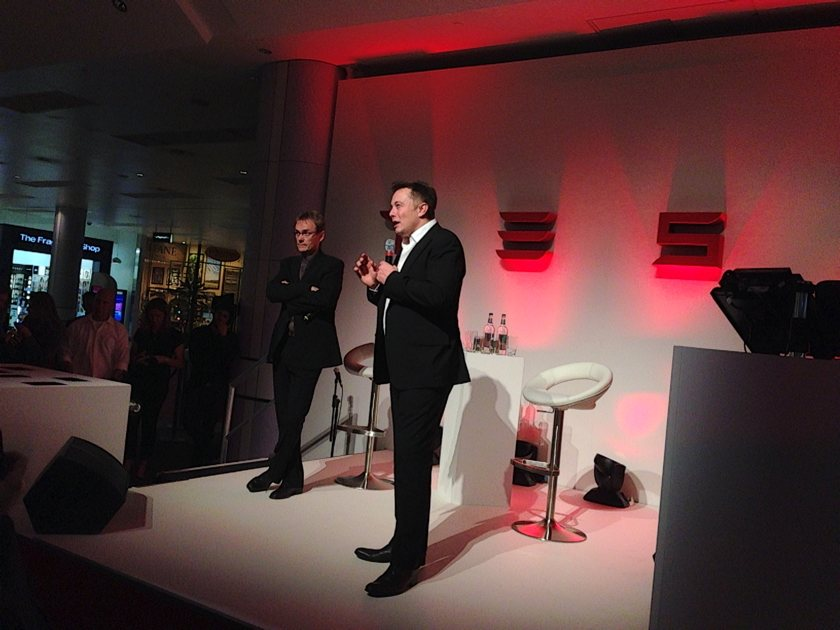 Tesla launch party Q&A with Eldon Musk