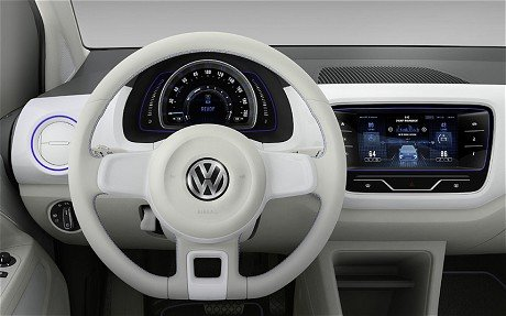 VW-Up-Hbrid dash