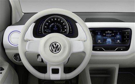 VW-Up-Hbrid dash