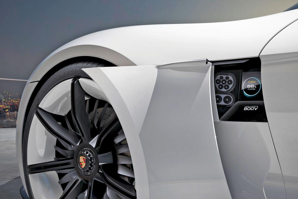 mission e charge port