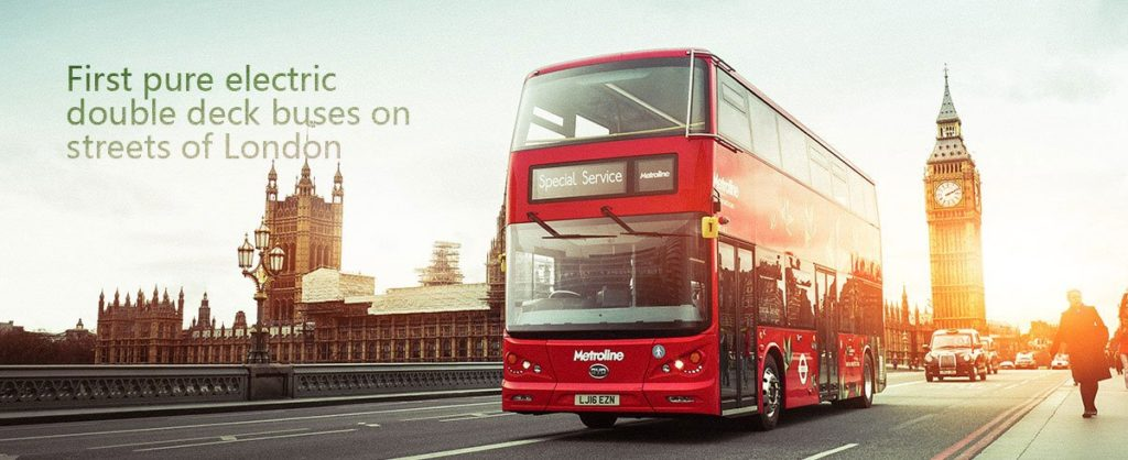 London Electric bus