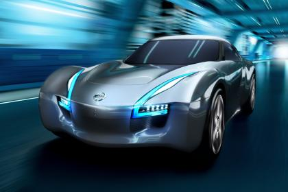 future nissan EV sports car