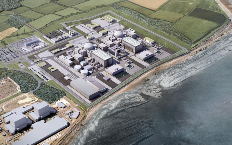 Hinkley_EDF_pic_1_ED001_Oblique_Aerial_View