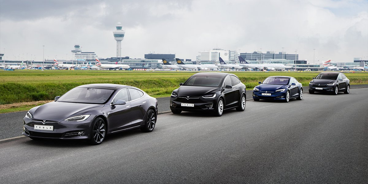 tesla heathrow test drive