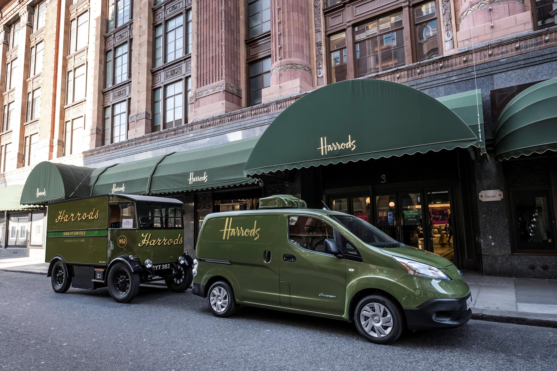 Harrods goes Green with Nissan e-NV200 - EV Info ...