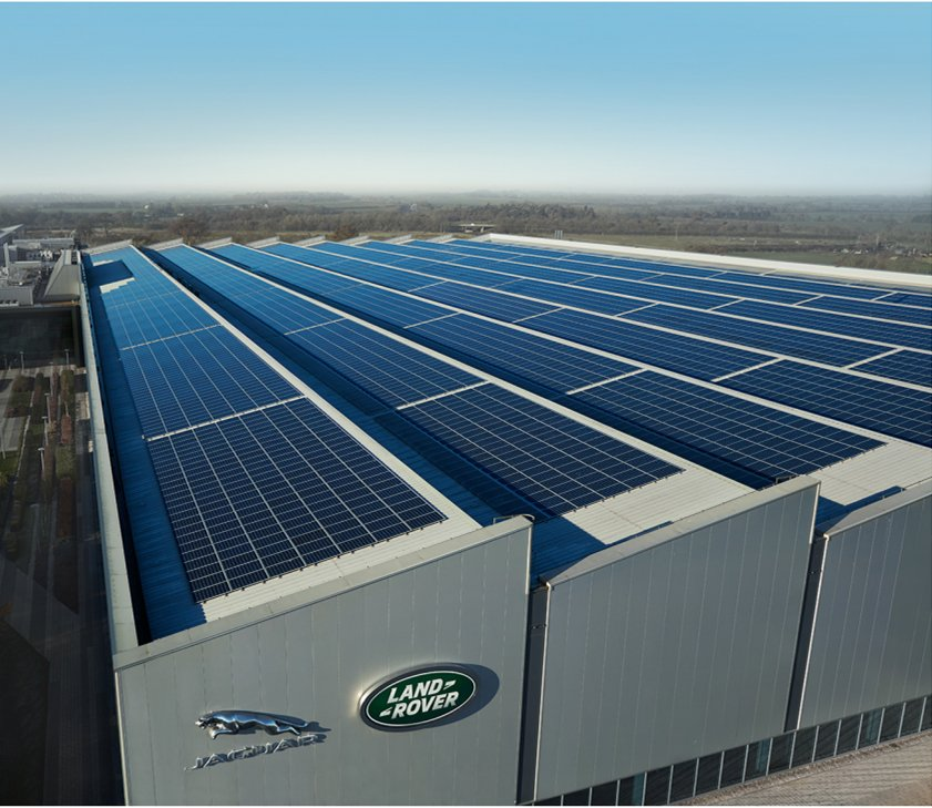 Jaguar Land Rover EMC Solar Panels copy
